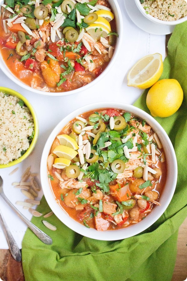 moroccan chicken stew 1