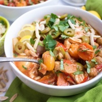 Slow Cooker Moroccan Chicken Stew