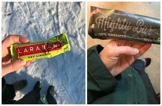 ski afternoon snacks
