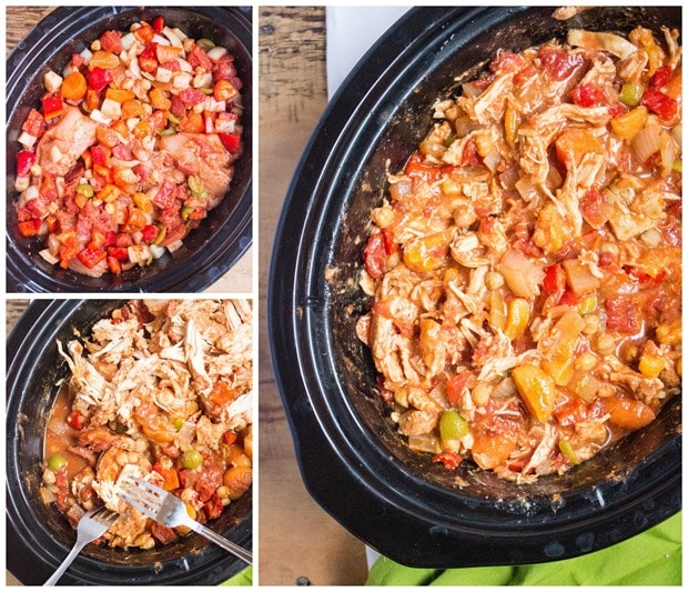 slow cooker chicken stew easy