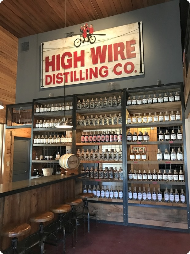 high wire distilling co