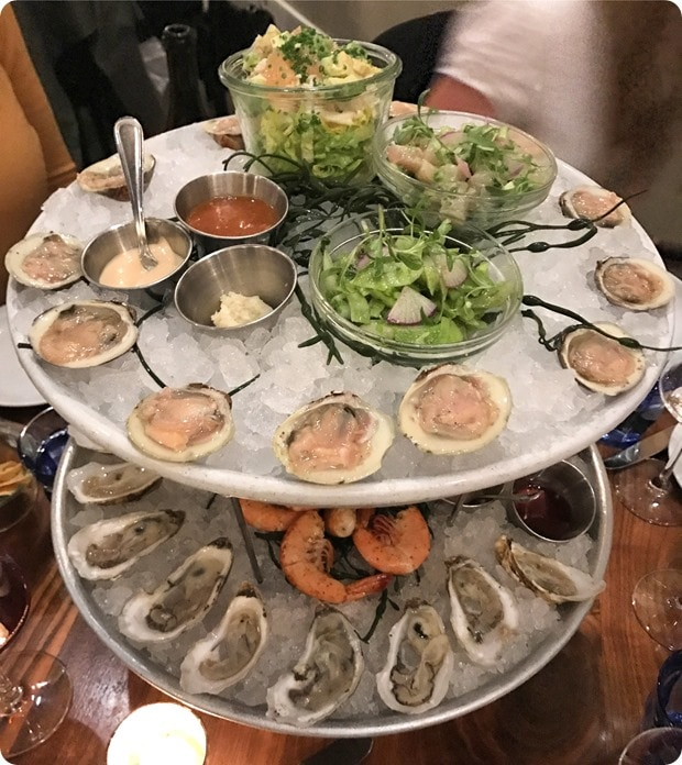 the ordinary seafood tower