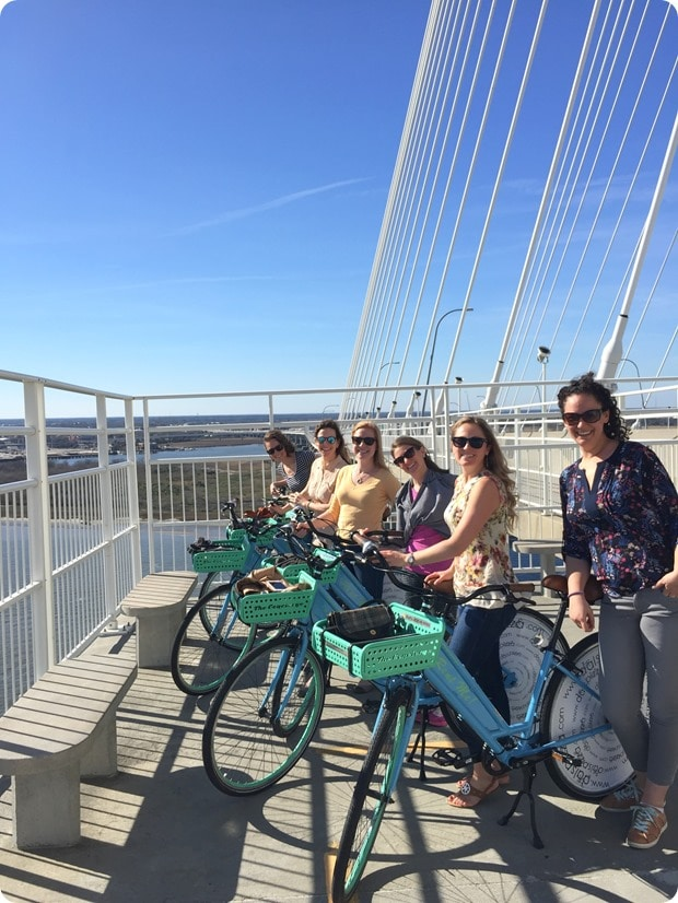 biking charleston