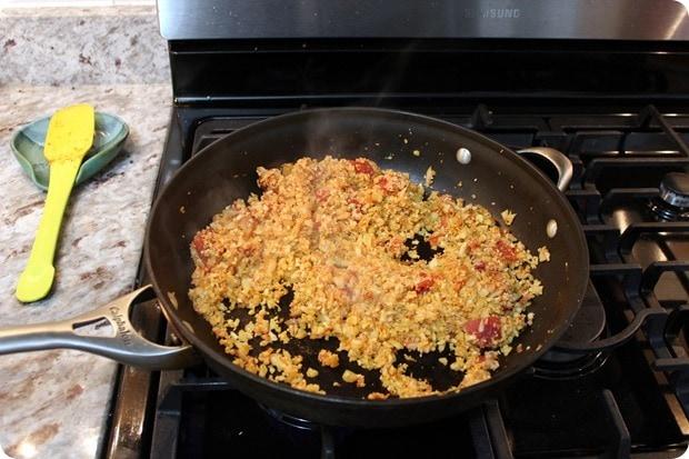 sun basket cauliflower rice