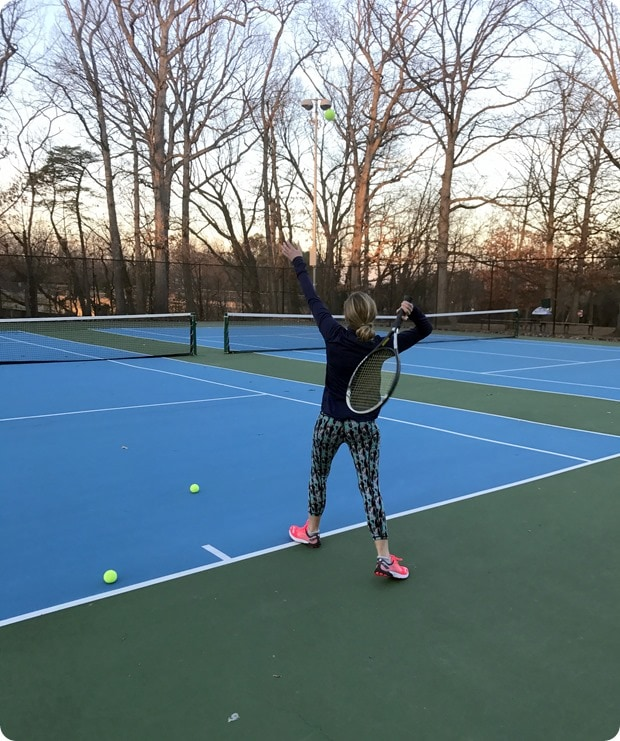 tennis courts arlington free