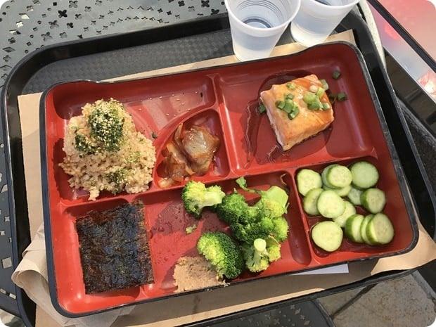 teaism salmon bento box