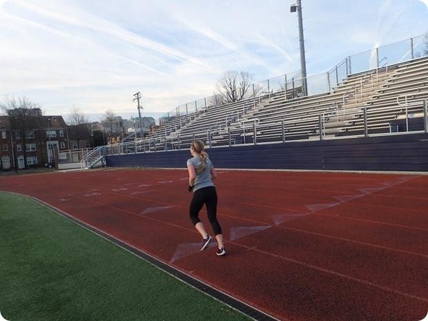 washington lee track workout