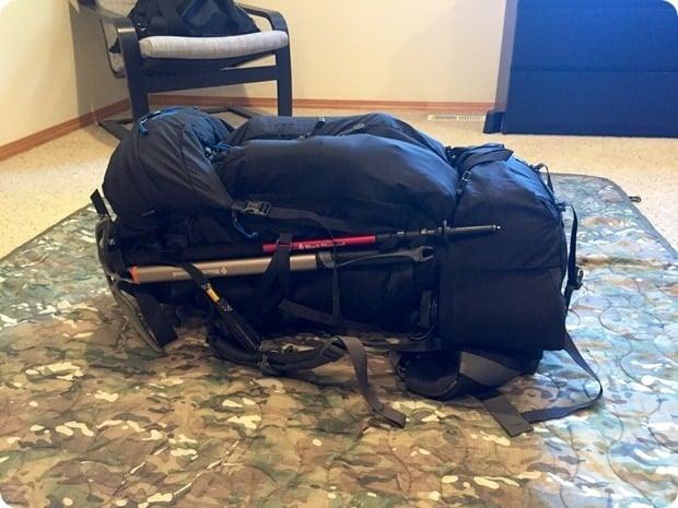 backpack for mt rainier summit hike