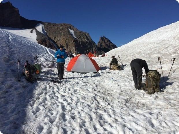 camp muir mt rainier hike 2