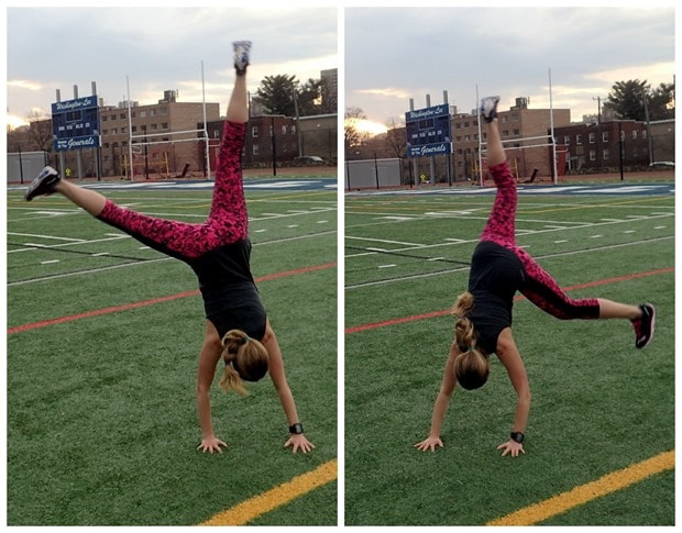 cartwheel track workout