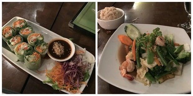 mai thai georgetown dinner