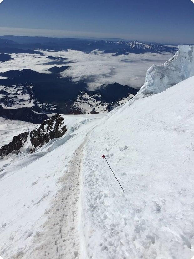 mt rainier summit climb descent 4