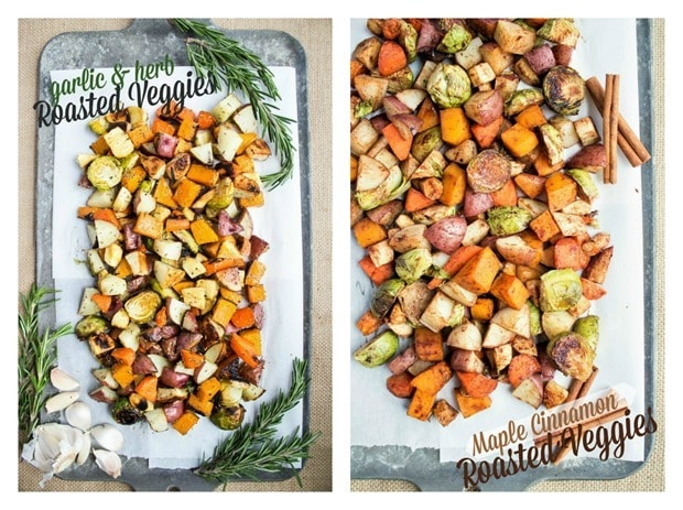 roasted veggies two ways