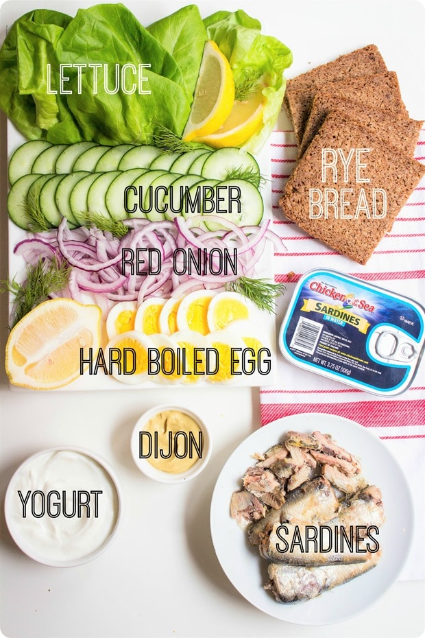 sardine sandwich ingredients