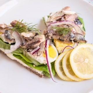 Scandinavian Sardine Sandwiches