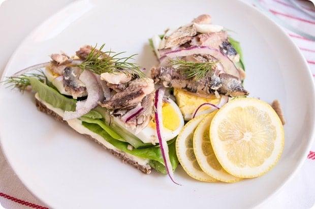 scandinavian sardine sandwich 7