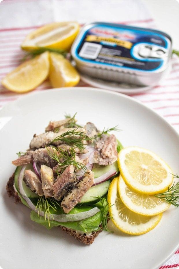 scandinavian sardine sandwich recipe 2