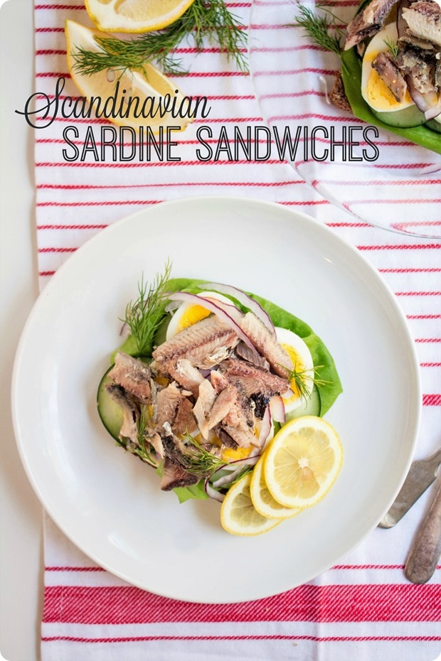 scandinavian sardine sandwiches recipe