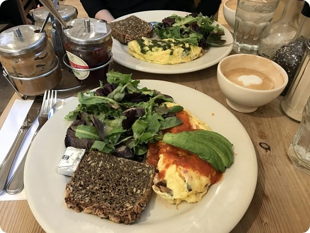 le pain quotidien brunch