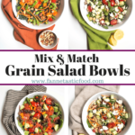 Mix & Match Grain Salad Bowl Recipes