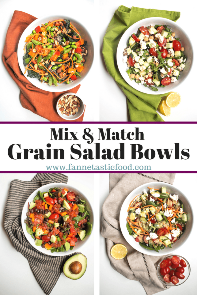 grain salad bowl recipes mix and match