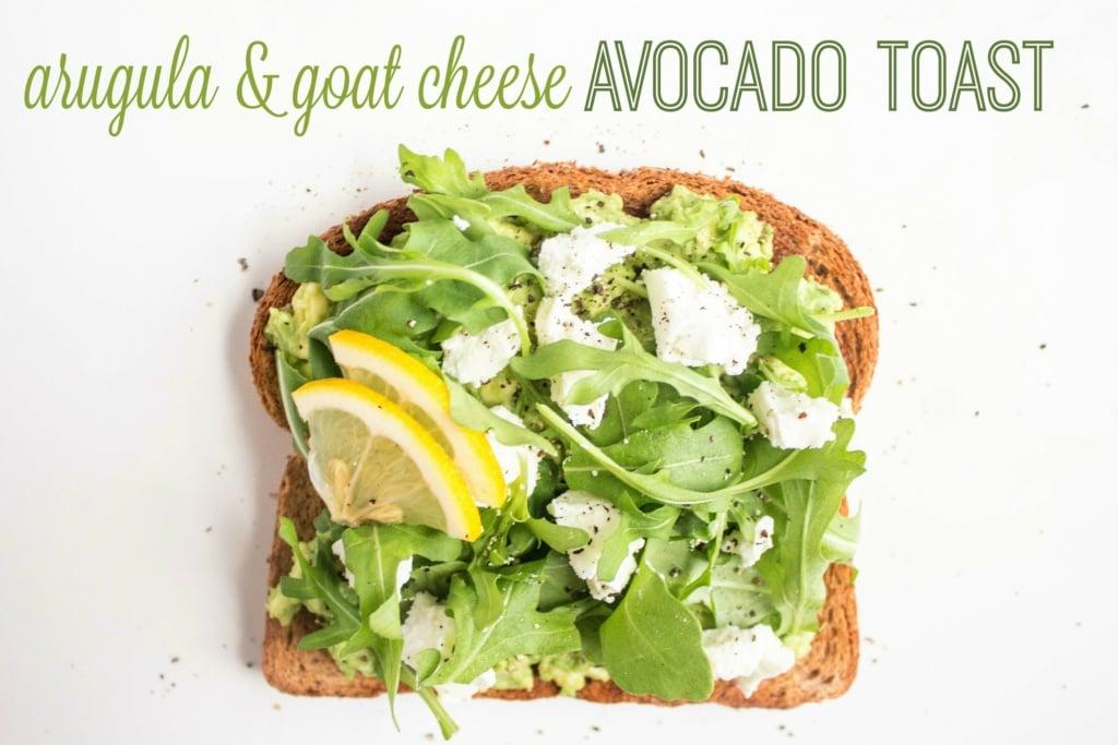 savory avocado toast