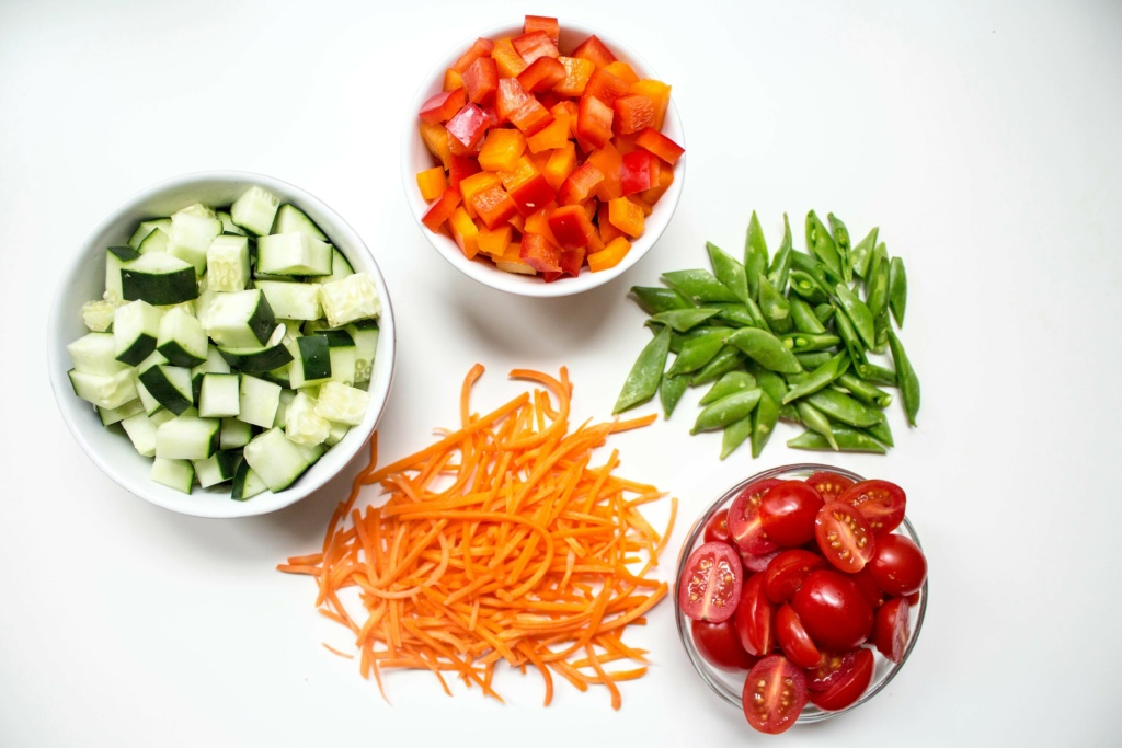 how to make an easy healthy lunch vegetables