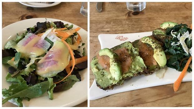 le pain quotidien avocado toast