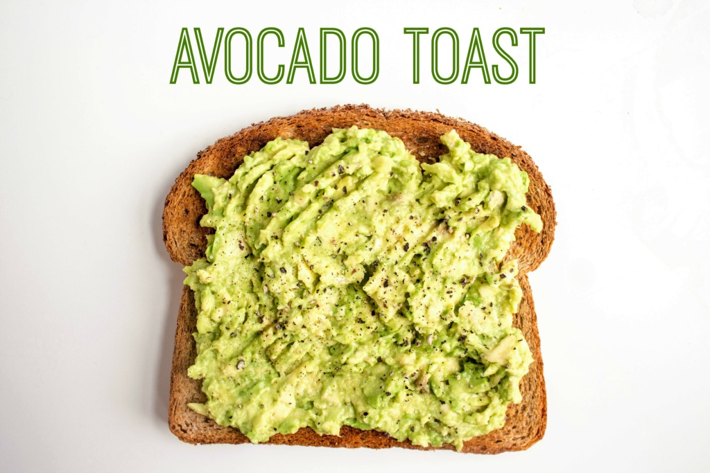 mix and match avocado toast