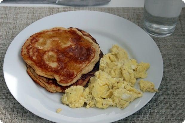 gluten free breakfast pancake