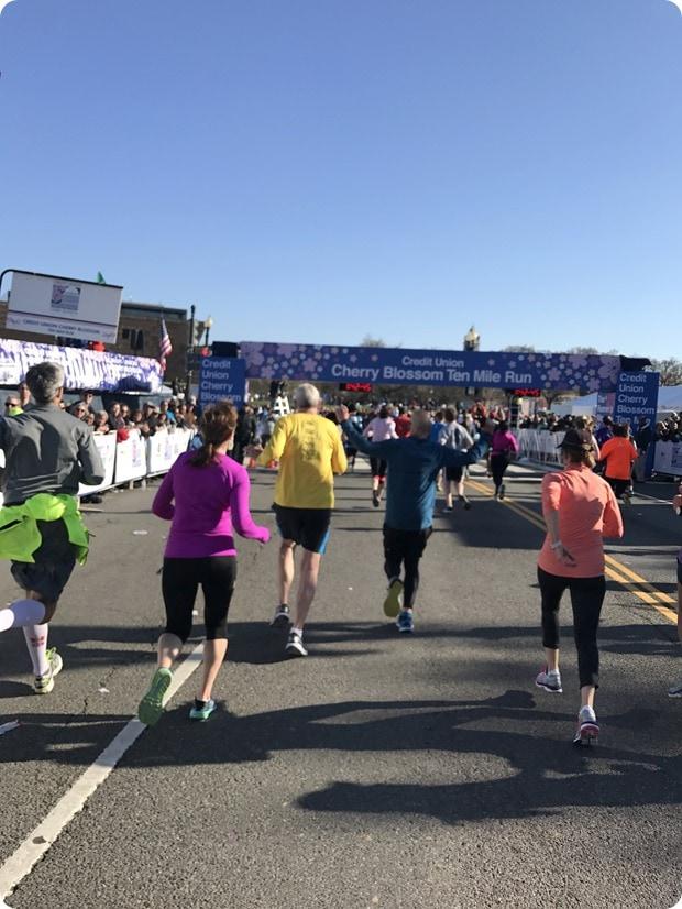 Cherry Blossom 10 Miler 2017 Race Recap - fANNEtastic food ...