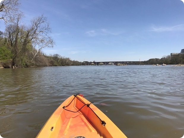 kayaking in dc