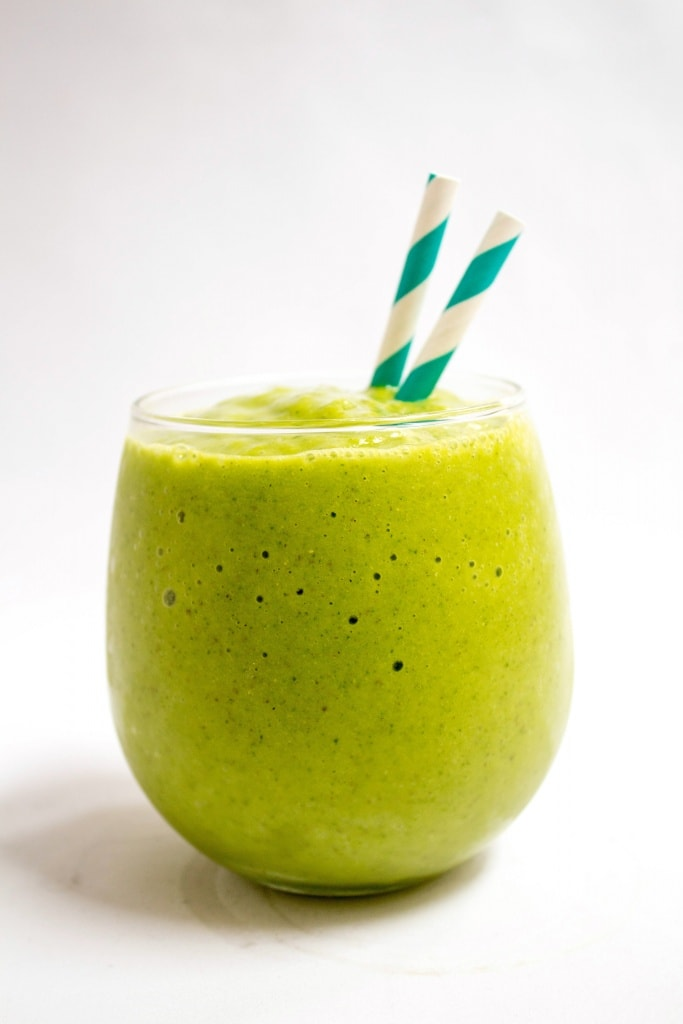 healthy smoothie recipes green tropical
