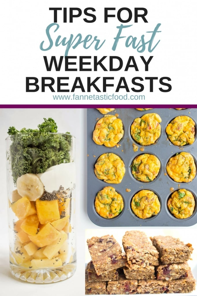 fast weekday breakfasts