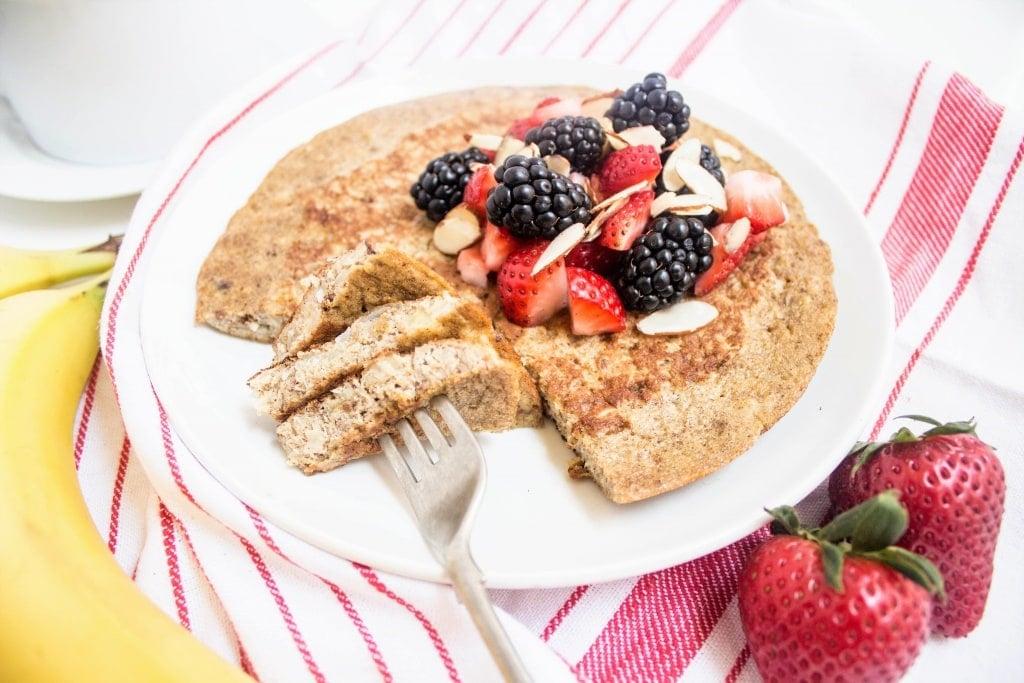 fast easy breakfast gluten free pancake