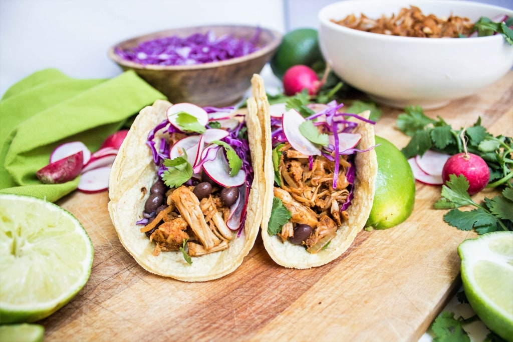 pulled jackfruit carnitas tacos recipe