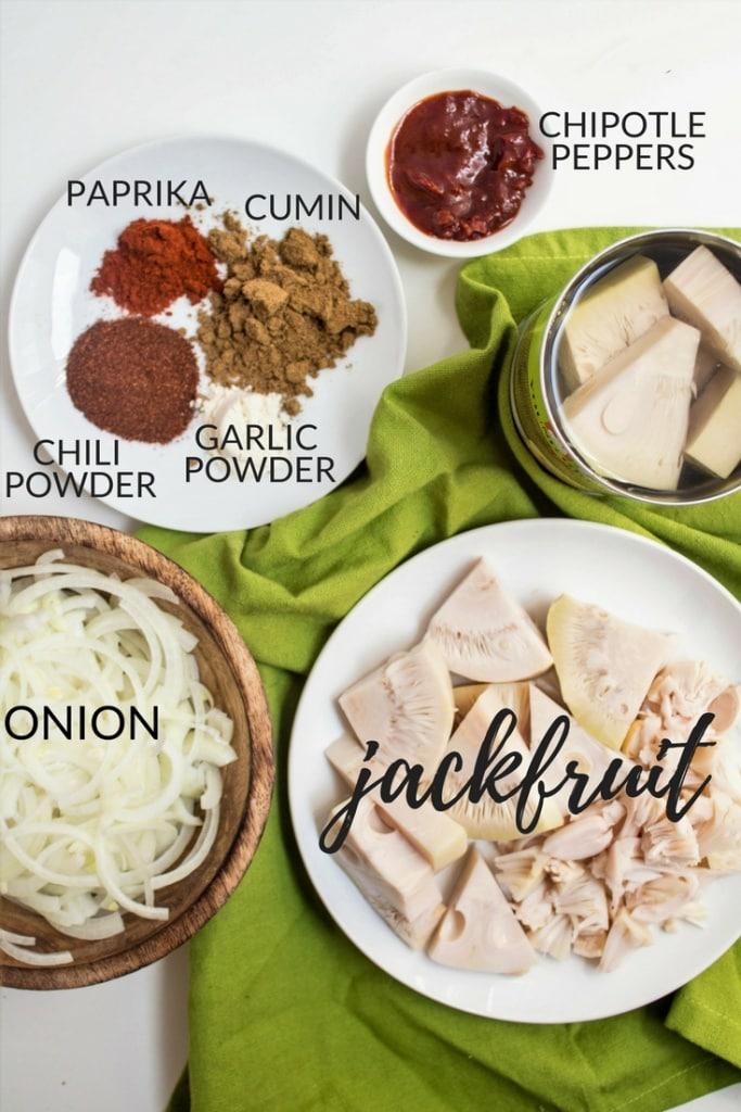 jackfruit carnitas tacos ingredients