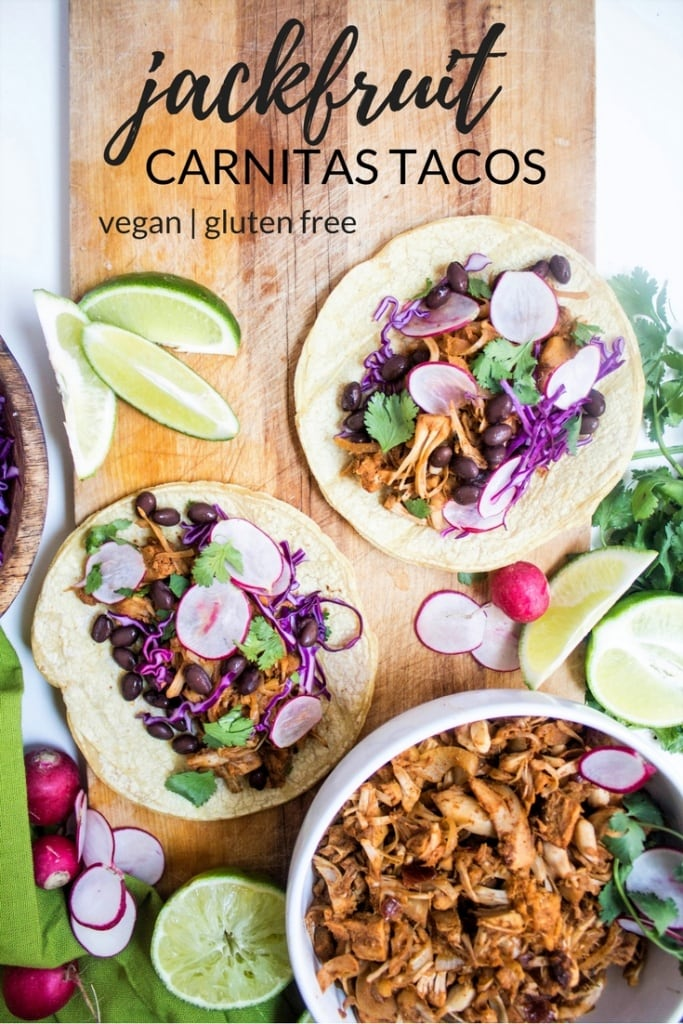 jackfruit carnitas tacos recipe