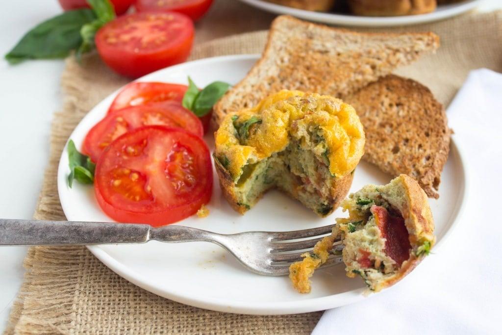 fast easy breakfast egg muffins