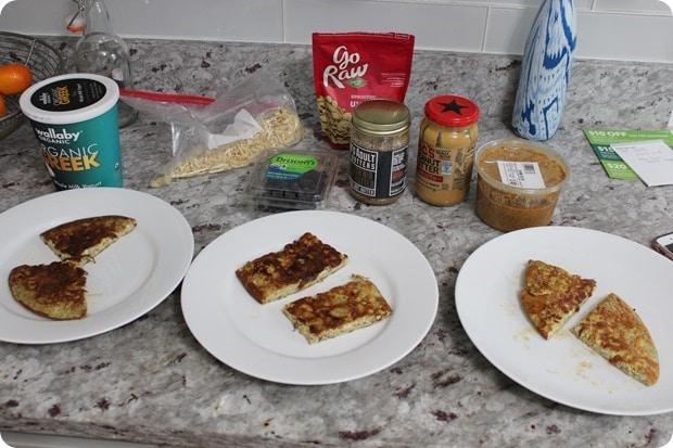 flour free breakfast pancake toppings