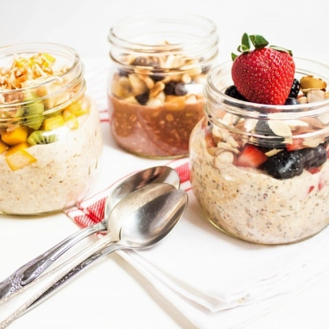Basic Overnight Oatmeal Recipe