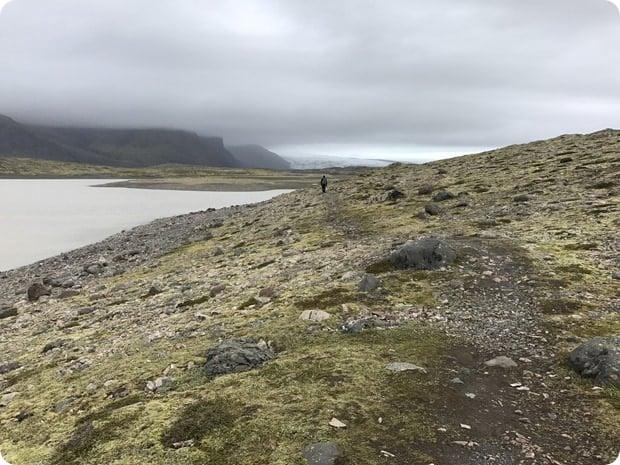 glacier lagoon hike iceland