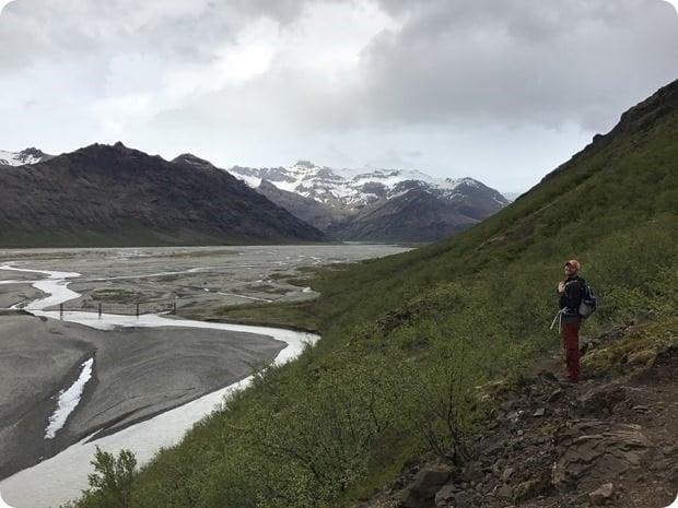 hiking skaftafell iceland