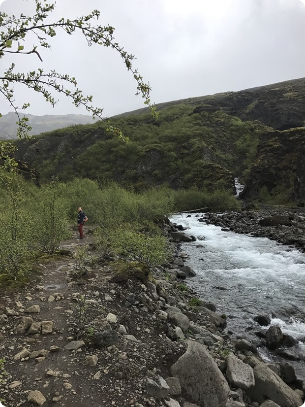 glymur waterfall hike