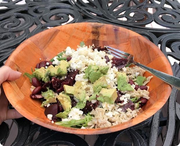 grain salad bowl