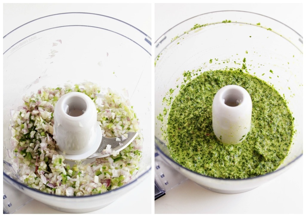 Make Chimichurri Without Food Processor
