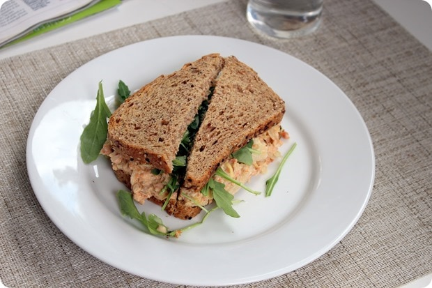 salmon salad sandwich pregnancy