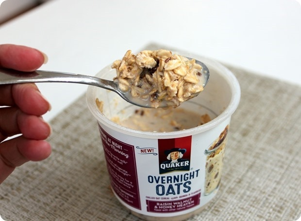 quaker overnight oats review