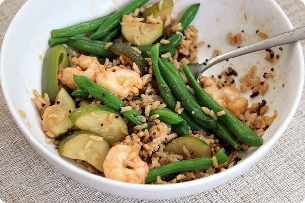 shrimp veggie stir fry