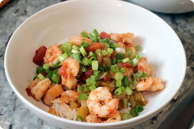 shrimp stir fry with tomatoes rice